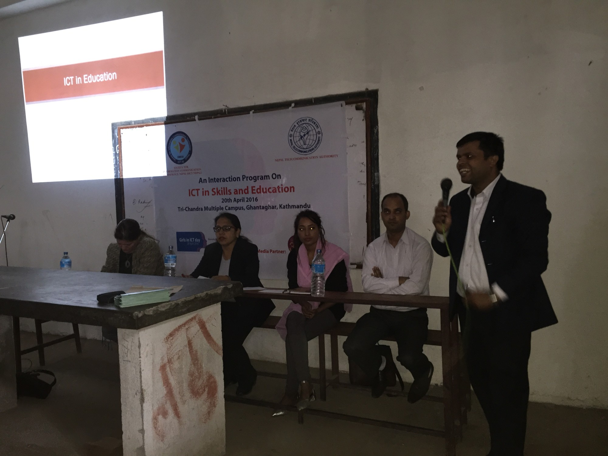 """An Interaction Program on """"ICT in Skills and Education"""